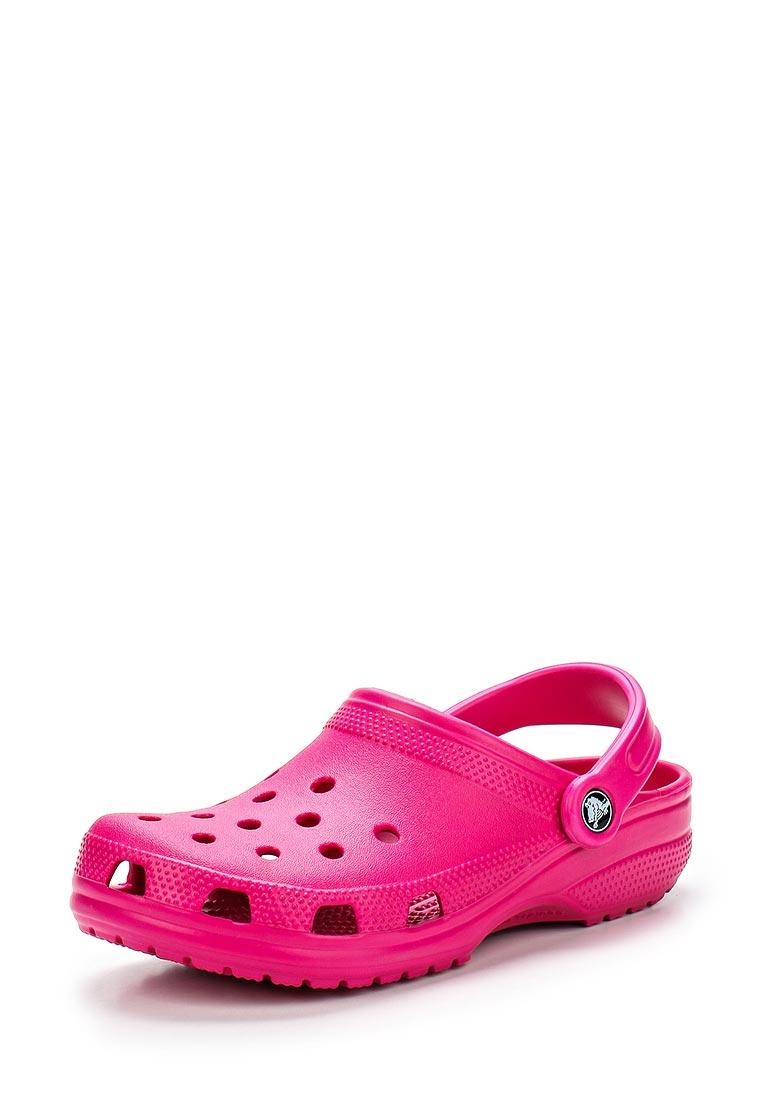 Женская резиновая обувь Crocs (Крокс) 10001-6X0