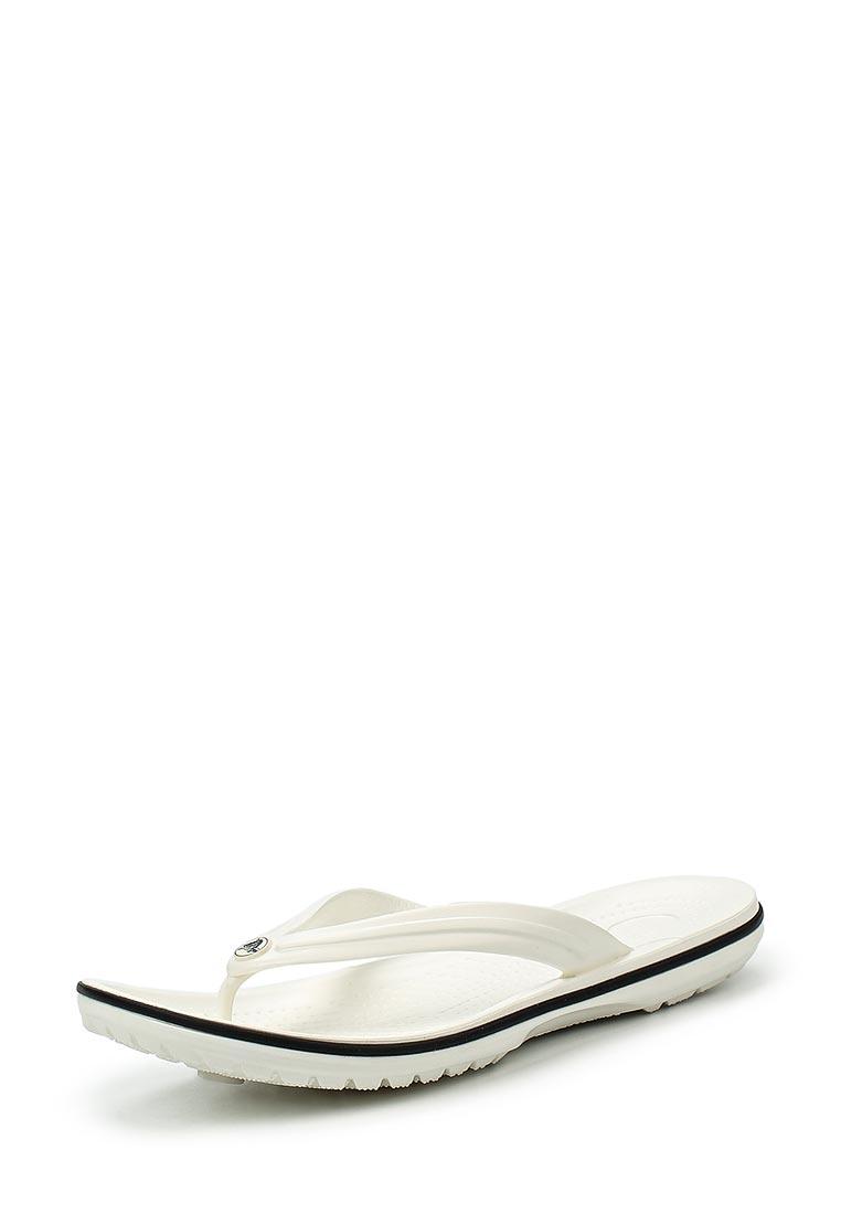 Женские сланцы Crocs (Крокс) 11033-100