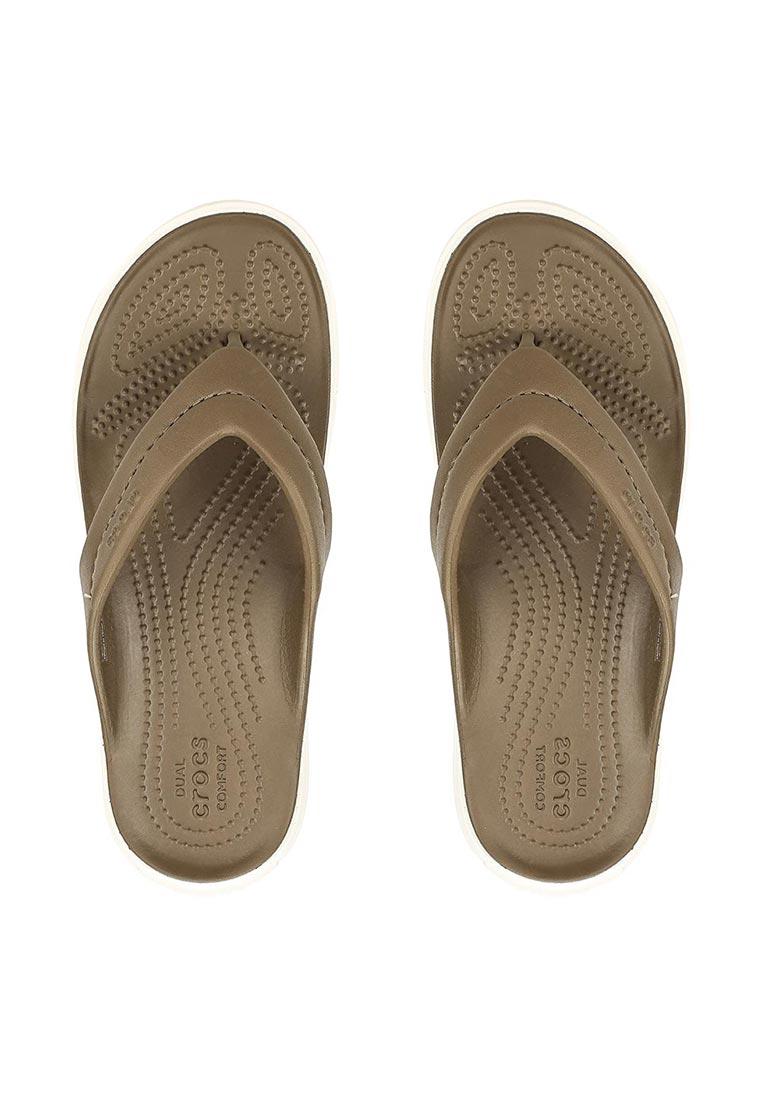 Женские сланцы Crocs (Крокс) 202831-24P