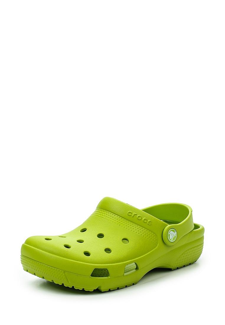 Женская резиновая обувь Crocs (Крокс) 204151-395