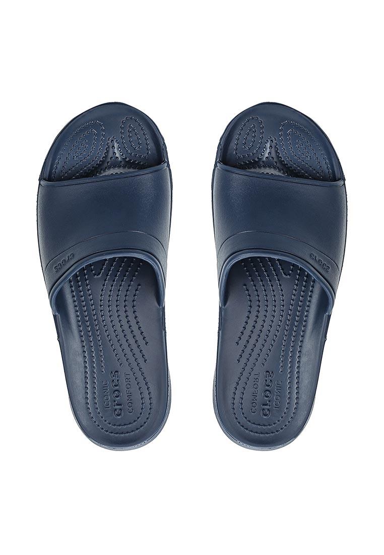 Женские сланцы Crocs (Крокс) 204067-410