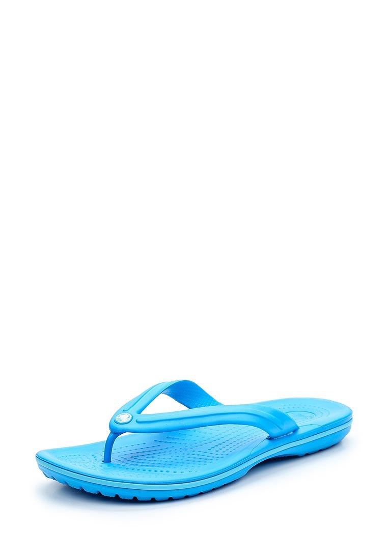 Женские сланцы Crocs (Крокс) 11033-49Z
