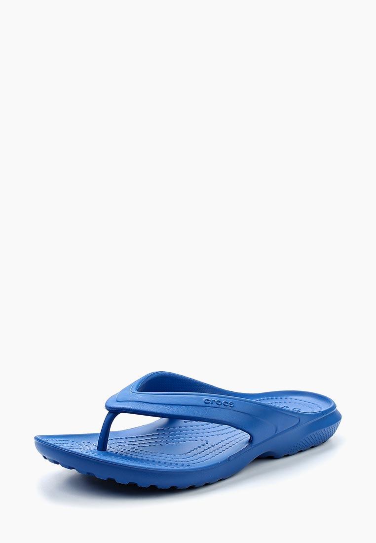 Женские сланцы Crocs (Крокс) 202635-4GX: изображение 1