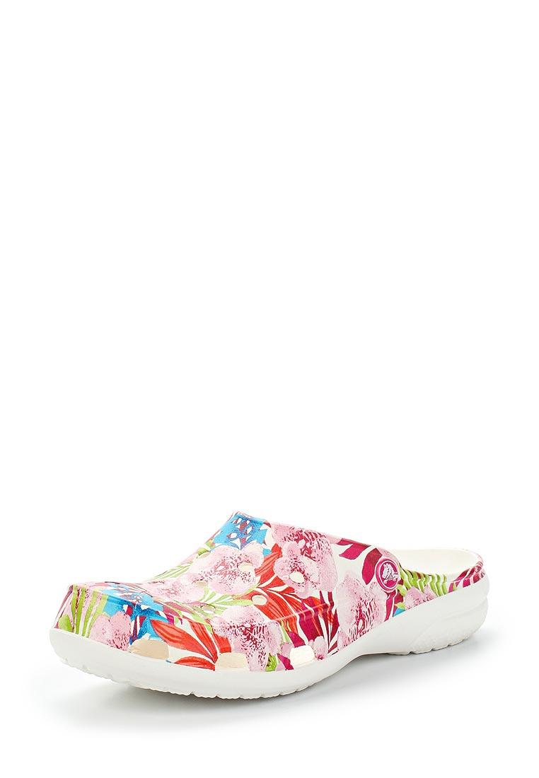 Женская резиновая обувь Crocs (Крокс) 203791-95X