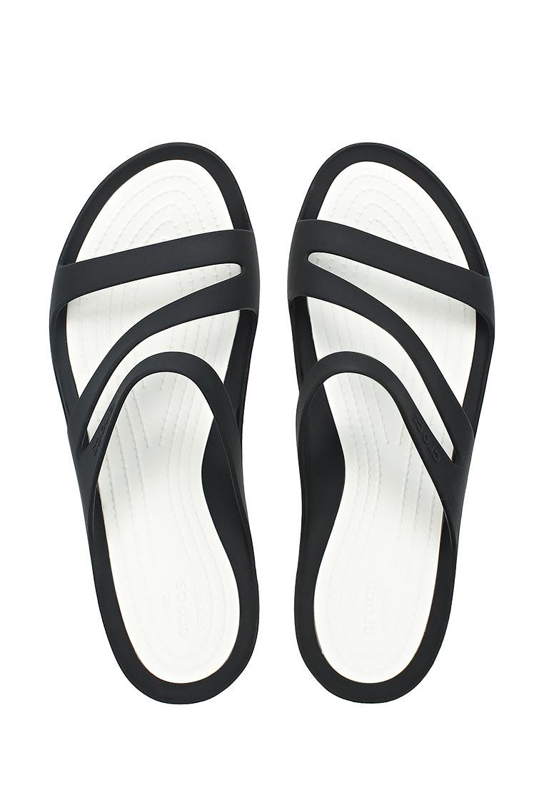Женские сланцы Crocs (Крокс) 203998-066