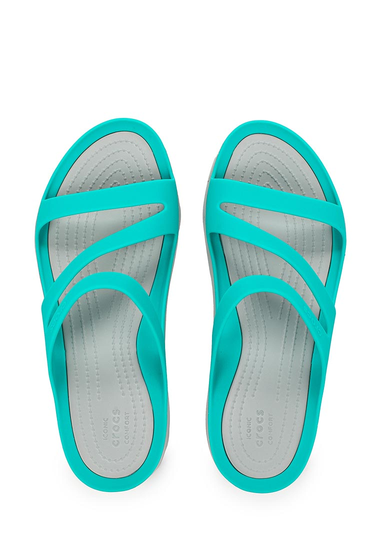 Женские сланцы Crocs (Крокс) 203998-3O2