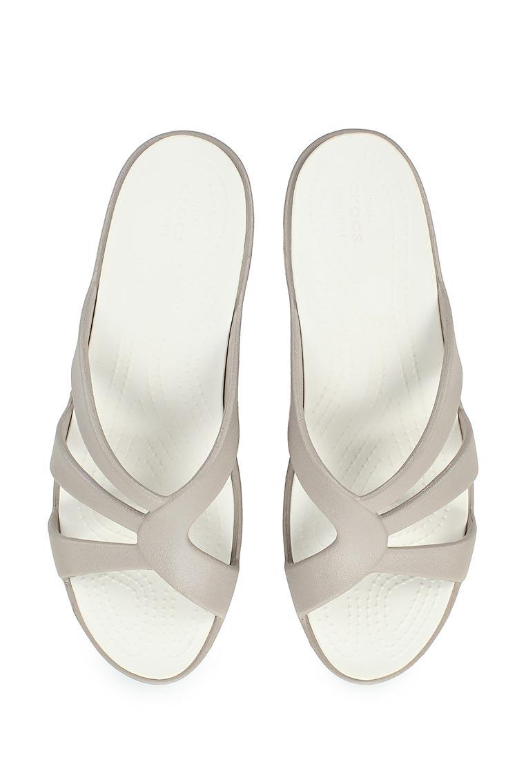 Женские сланцы Crocs (Крокс) 204010-018