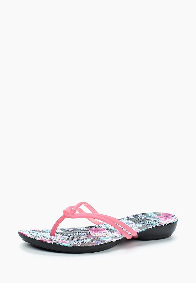Женские сланцы Crocs (Крокс) 204196-6NT