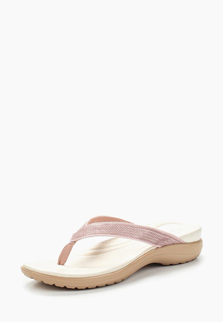 Женские сланцы Crocs (Крокс) 204311-7D9