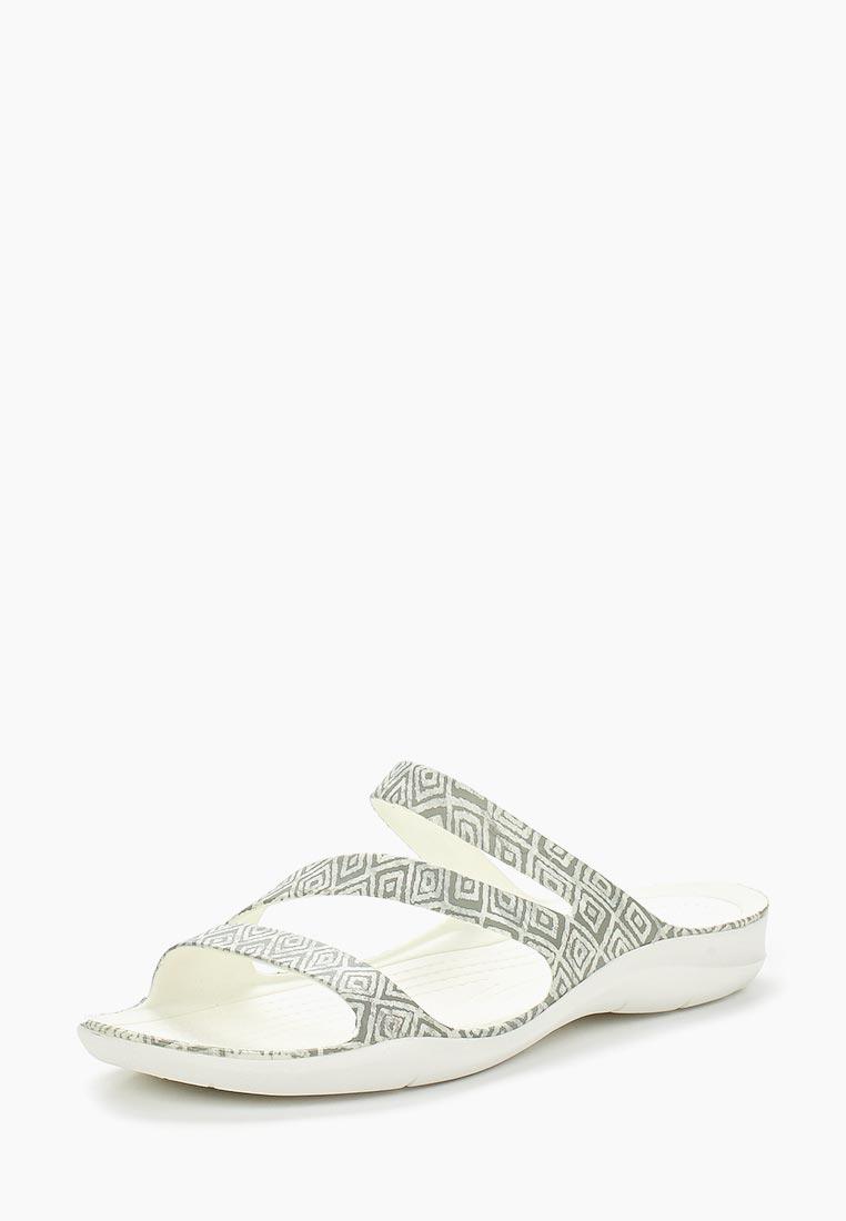 Женские сланцы Crocs (Крокс) 204461-0DS