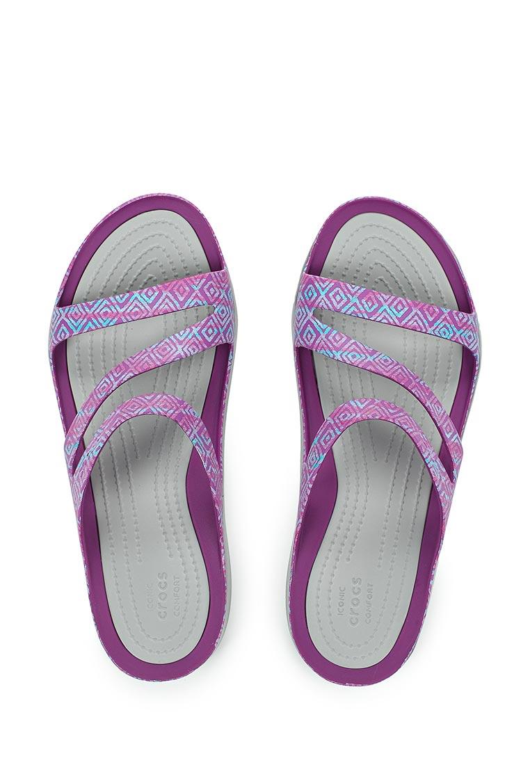 Женские сланцы Crocs (Крокс) 204461-55O