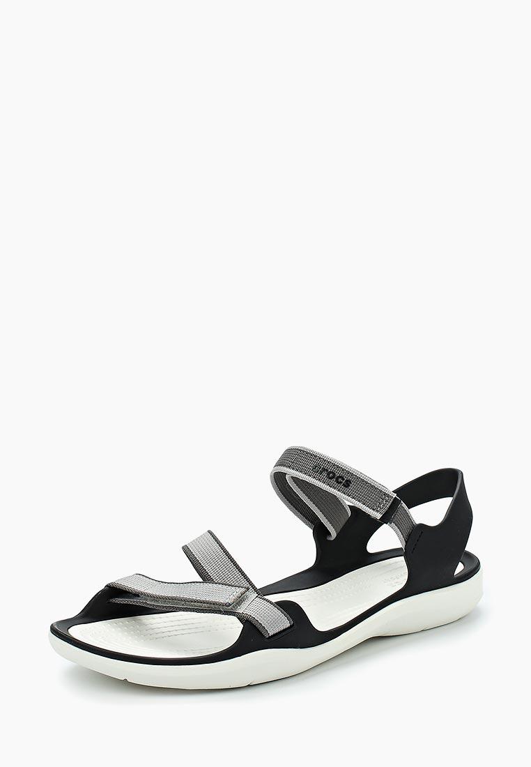 Женские сандалии Crocs (Крокс) 204804-101
