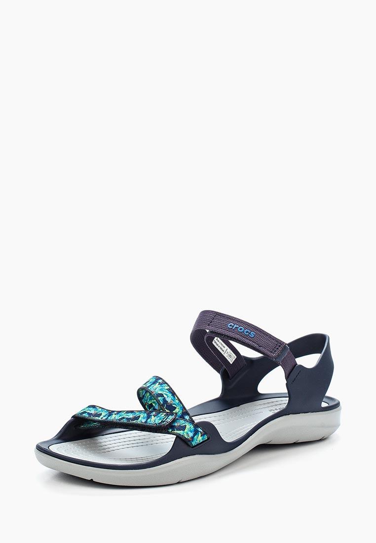 Женские спортивные сандалии Crocs (Крокс) 204804-410