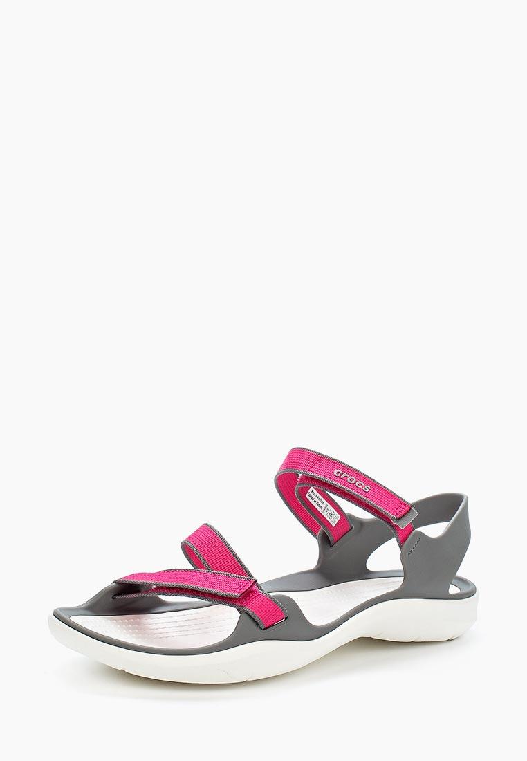 Женские спортивные сандалии Crocs (Крокс) 204804-6OH