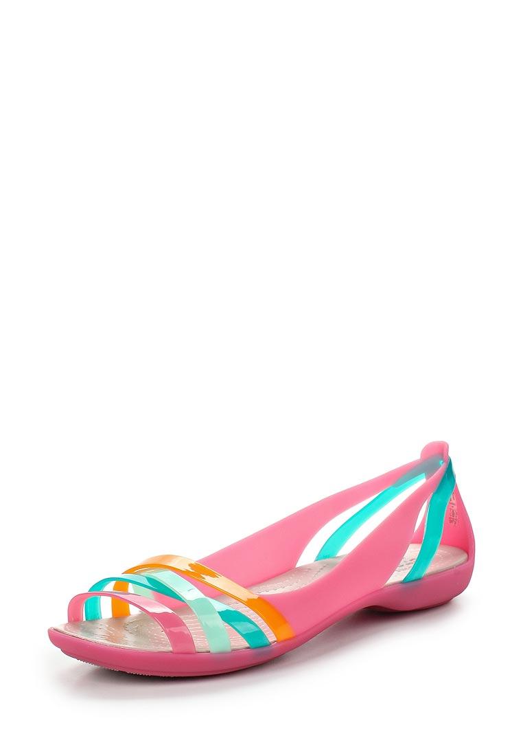 Женские спортивные сандалии Crocs (Крокс) 204912-6NU