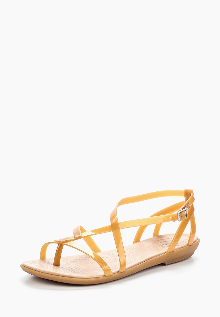 Женские спортивные сандалии Crocs (Крокс) 204914-276