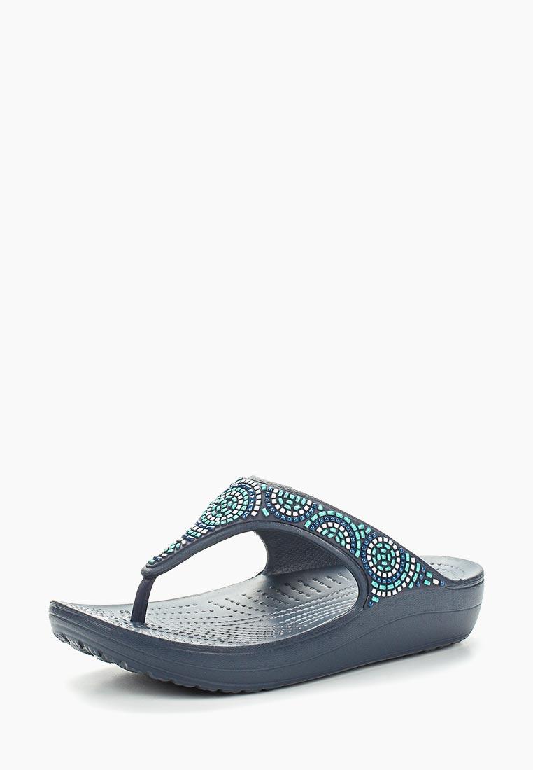 Женская резиновая обувь Crocs (Крокс) 205051-4AD