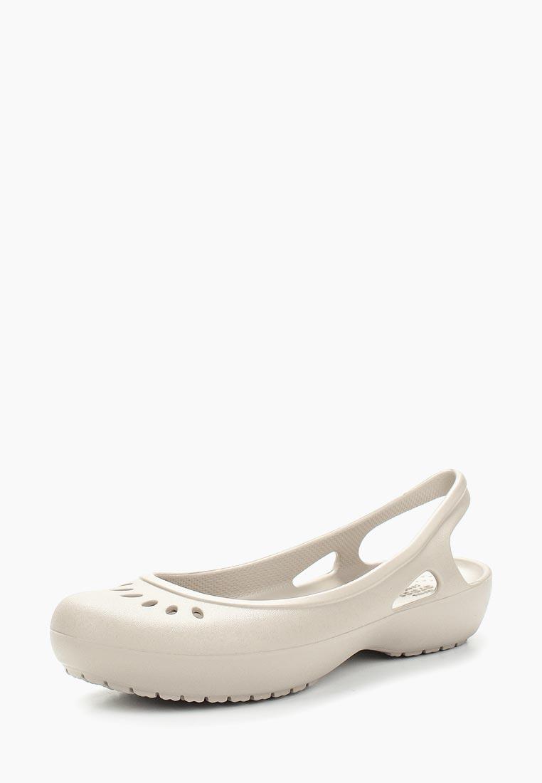 Женская резиновая обувь Crocs (Крокс) 205077-018