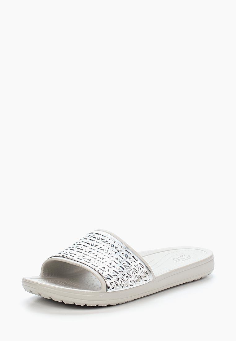 Женские сланцы Crocs (Крокс) 205130-178