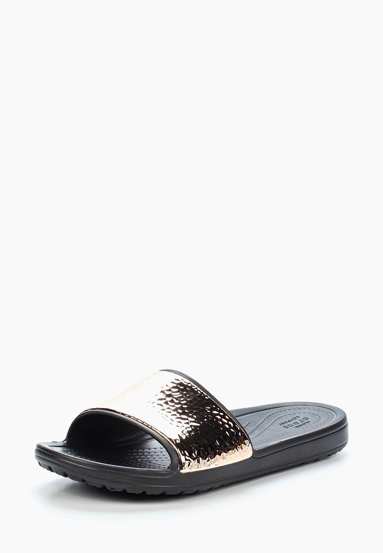 Женские сланцы Crocs (Крокс) 205135-08O