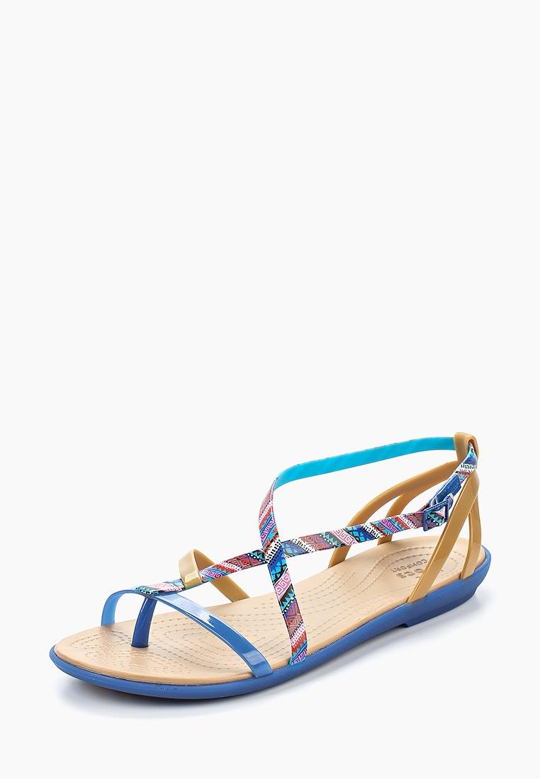 Женские спортивные сандалии Crocs (Крокс) 205146-4HT