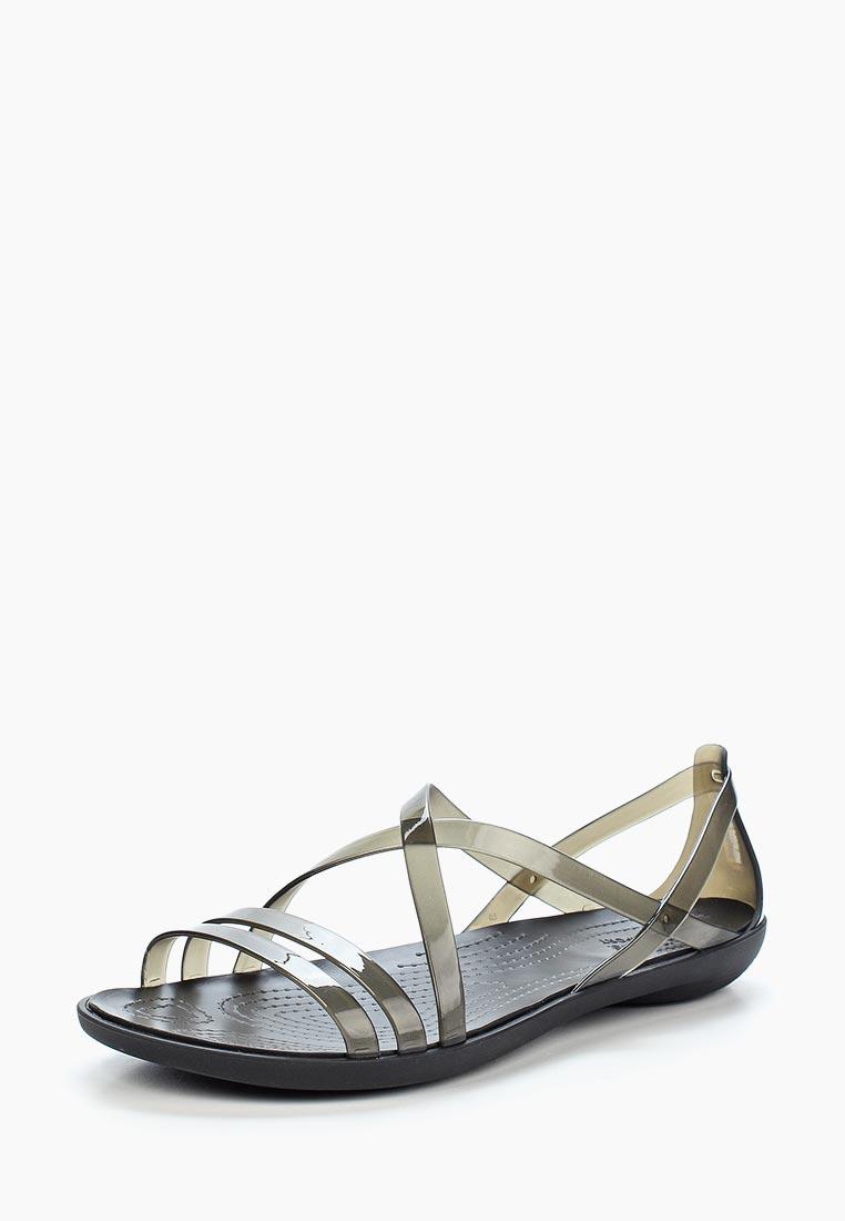 Женские спортивные сандалии Crocs (Крокс) 204915-001