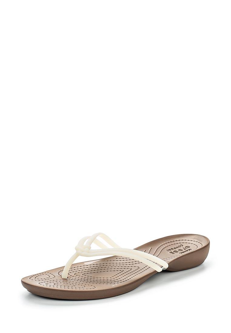 Женские сланцы Crocs (Крокс) 204004-1AO