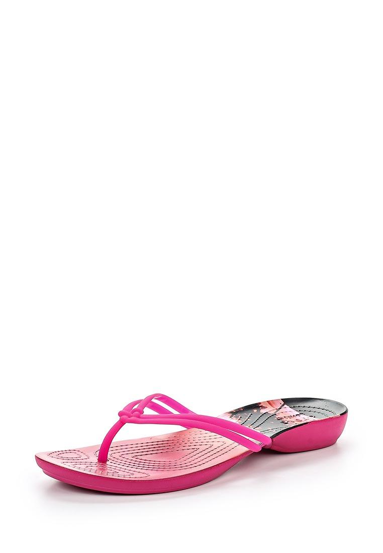Женские сланцы Crocs (Крокс) 204196-6JS