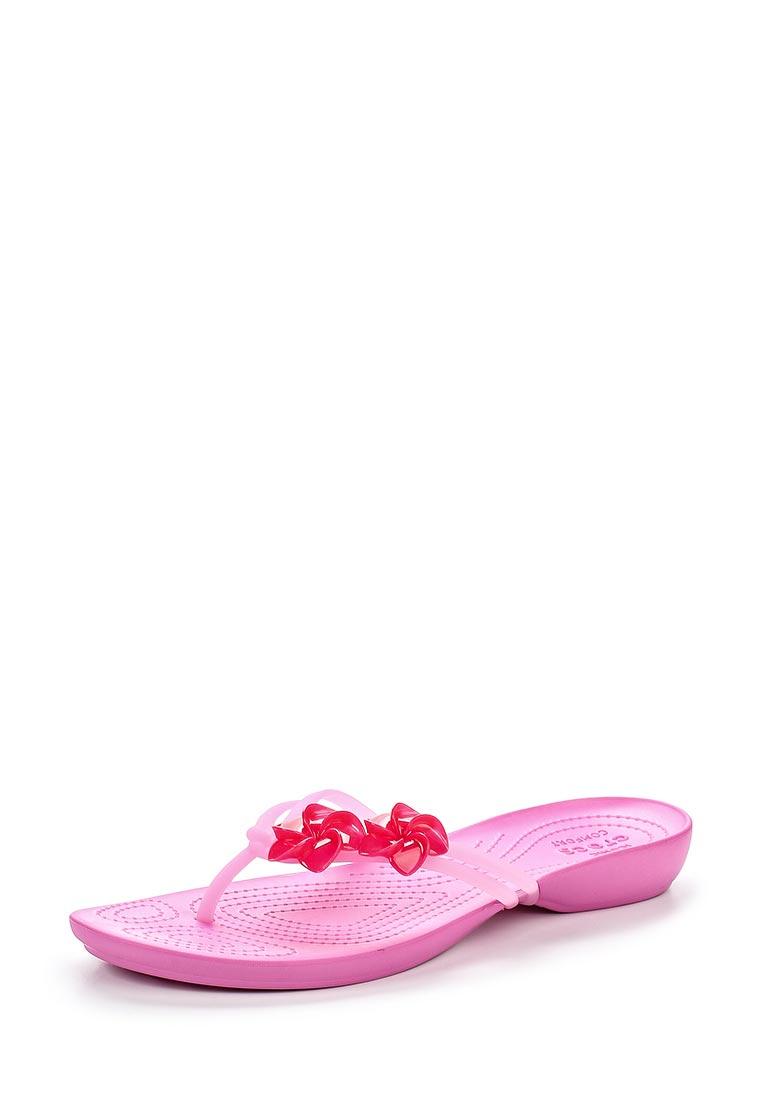 Женские сланцы Crocs (Крокс) 204282-6LR