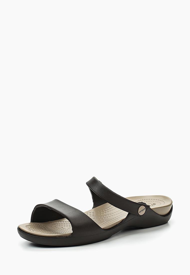 Женские сланцы Crocs (Крокс) 204268-23D: изображение 1