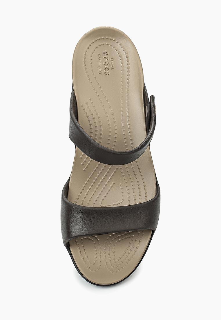 Женские сланцы Crocs (Крокс) 204268-23D: изображение 4