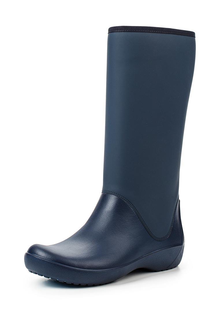 Женские резиновые сапоги Crocs (Крокс) 203416-410
