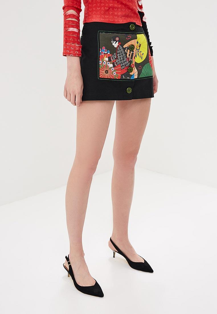Прямая юбка Custo Barcelona 393630