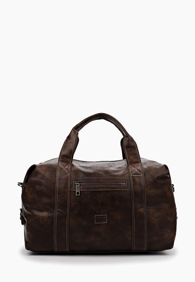 Дорожная сумка David Jones (Дэвид Джонс) СМ3241_т.-коричнеый