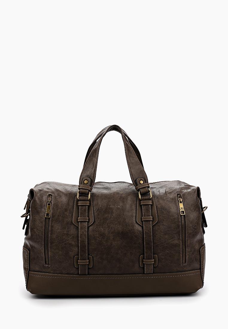 Дорожная сумка David Jones (Дэвид Джонс) СМ2079-1А_кофе