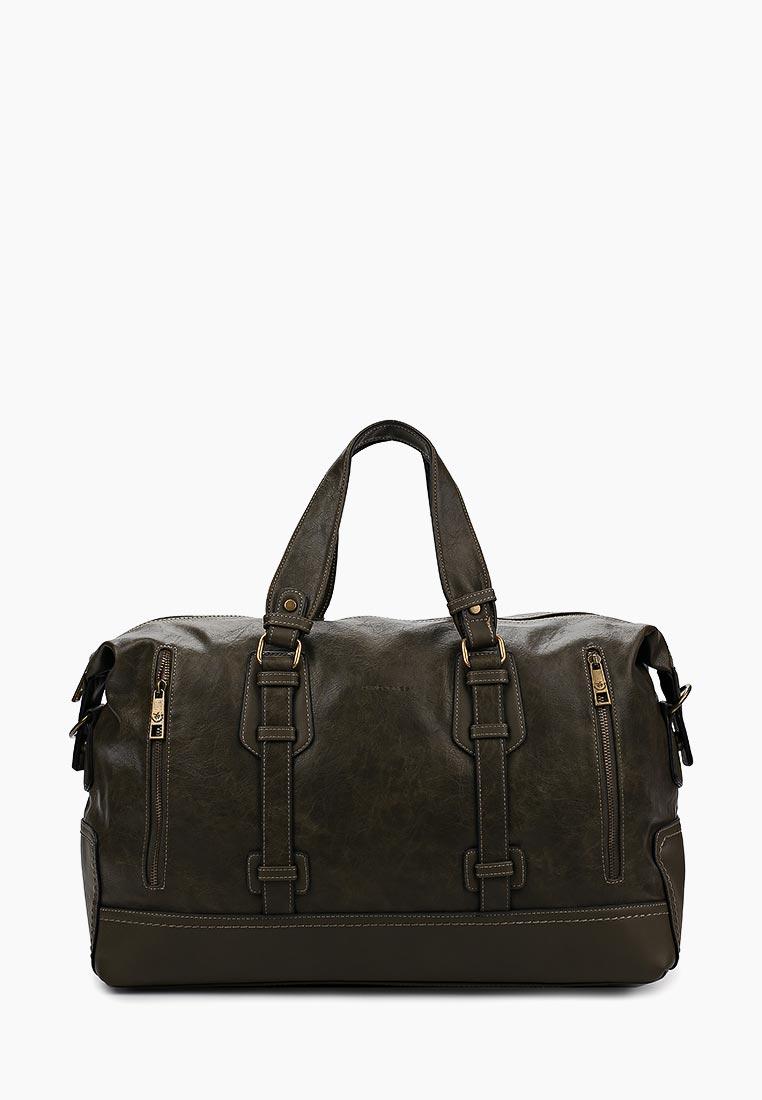 Дорожная сумка David Jones (Дэвид Джонс) СМ2079-1А_зеленый