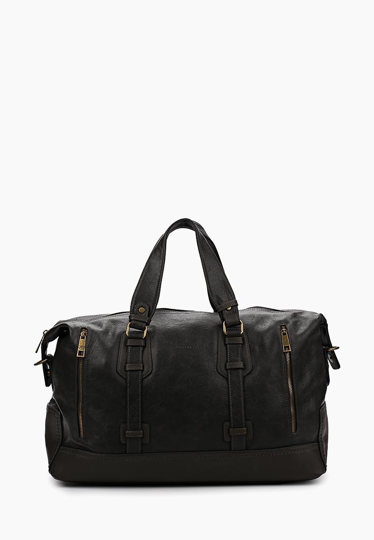 Дорожная сумка David Jones (Дэвид Джонс) СМ2079-1А_серый