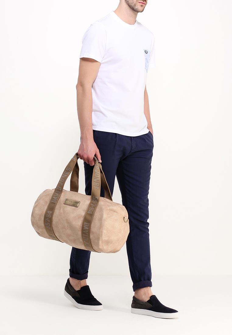 Дорожная сумка David Jones СМ0045-12_кэмел