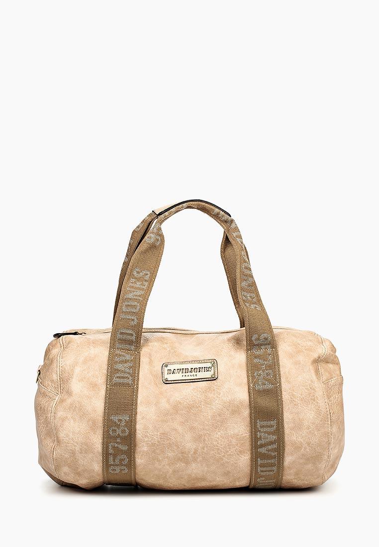 Дорожная сумка David Jones (Дэвид Джонс) СМ0045-12_кэмел