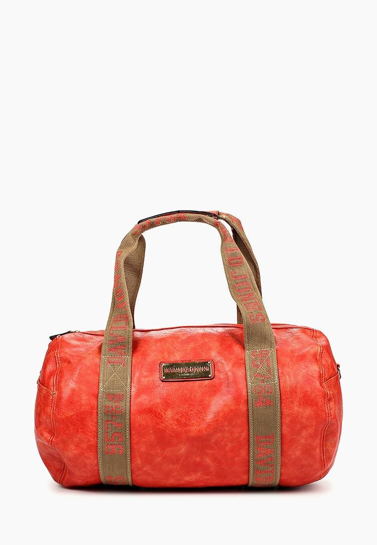 Дорожная сумка David Jones (Дэвид Джонс) СМ0045-12_красный
