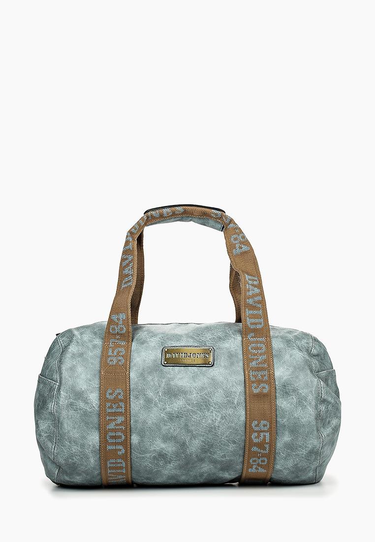 Дорожная сумка David Jones (Дэвид Джонс) СМ0045-12_голубой