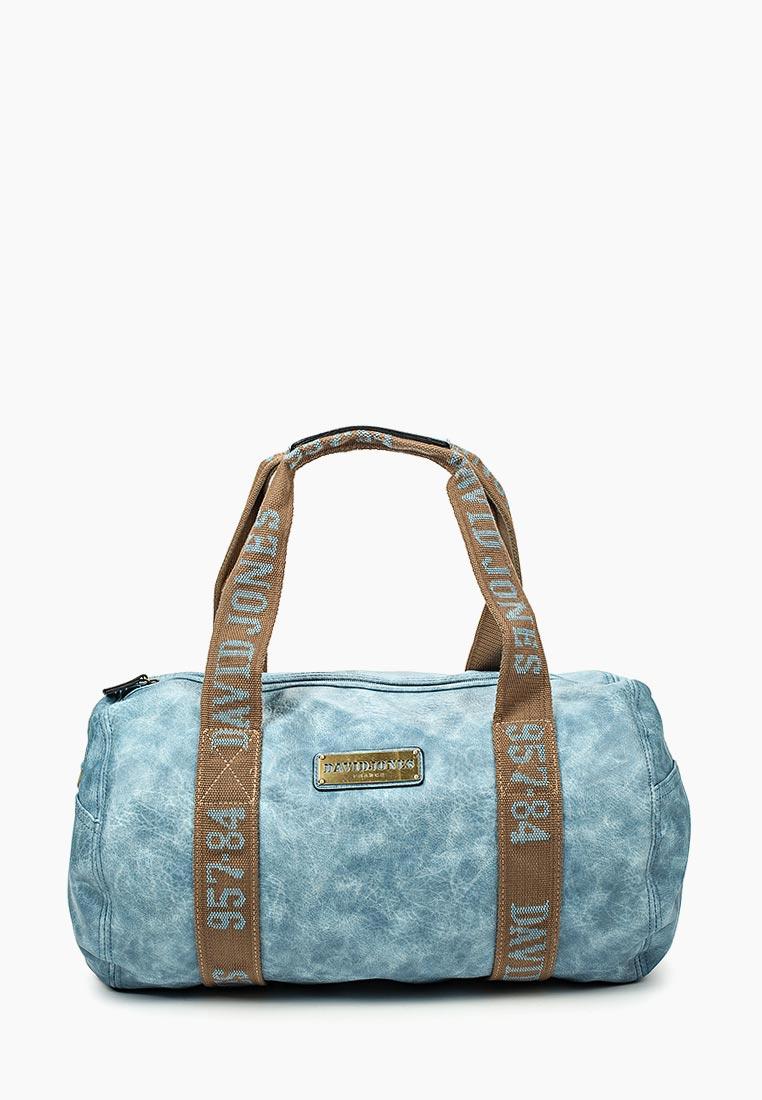 Дорожная сумка David Jones (Дэвид Джонс) СМ0045-12_синий