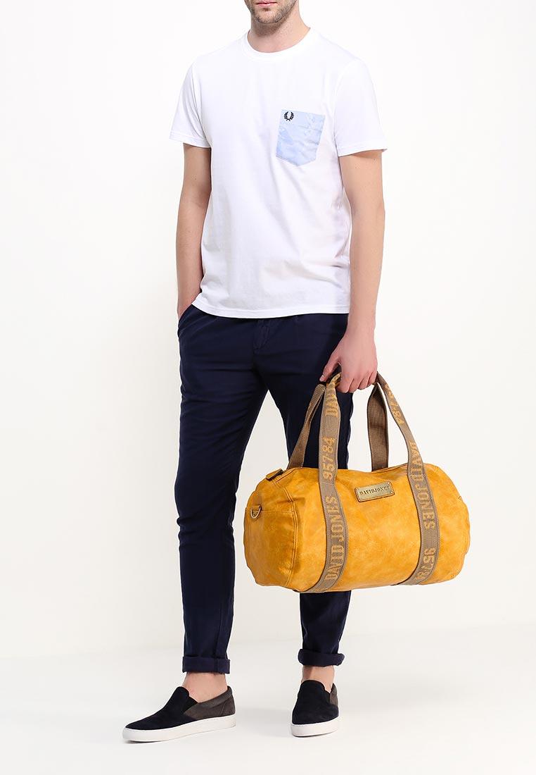 Дорожная сумка David Jones (Дэвид Джонс) СМ0045-12_желтый