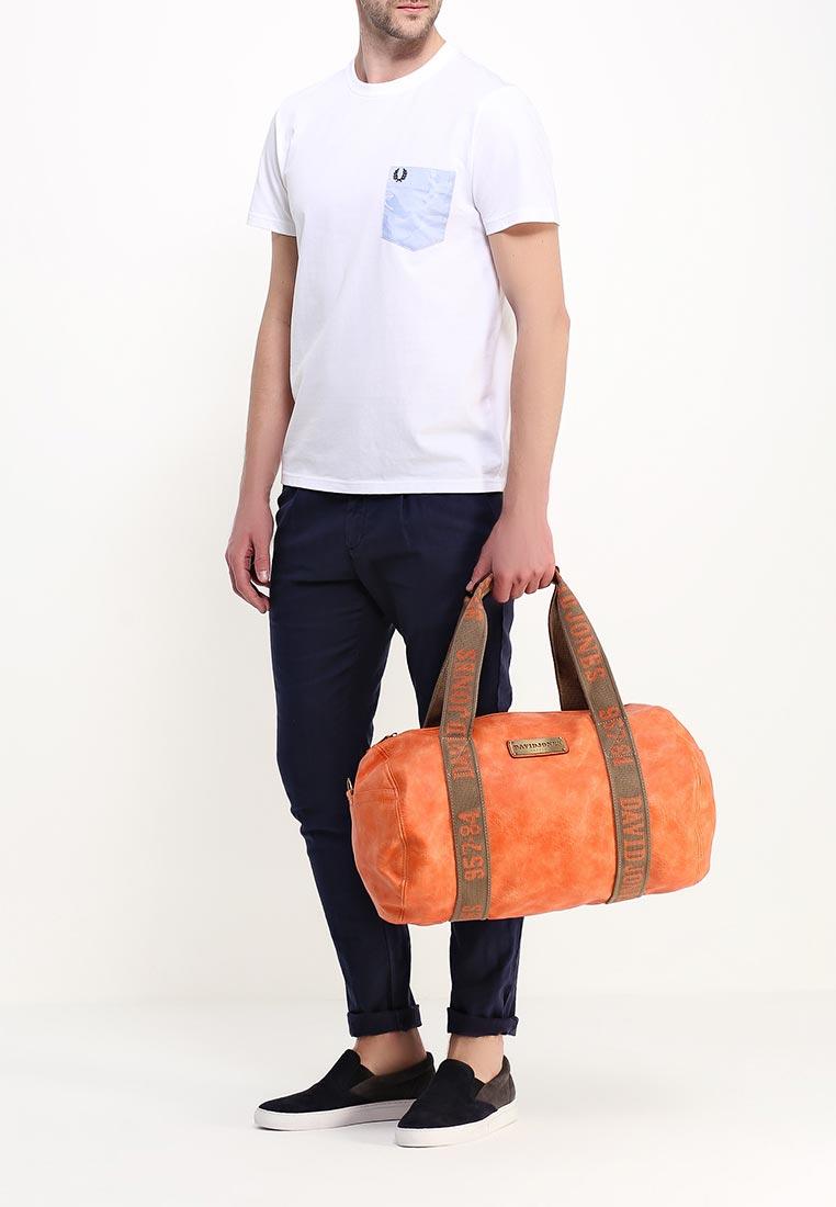 Дорожная сумка David Jones (Дэвид Джонс) СМ0045-12_оранжевый