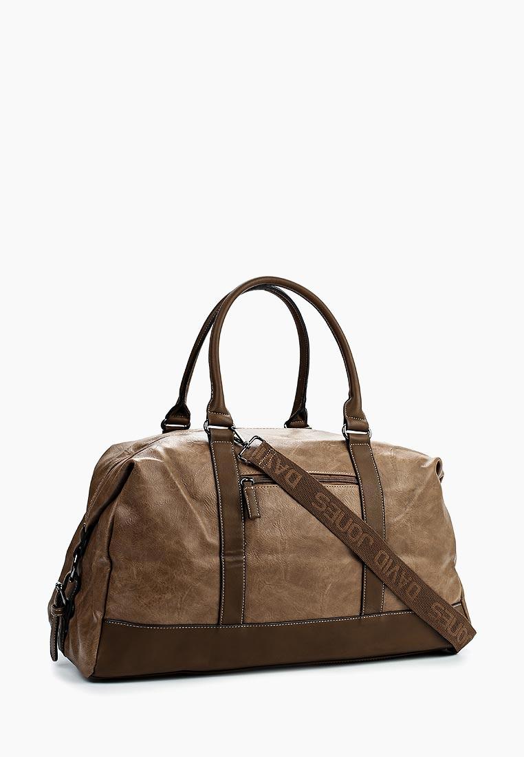 Дорожная сумка David Jones (Дэвид Джонс) СМ3258_кэмел: изображение 2