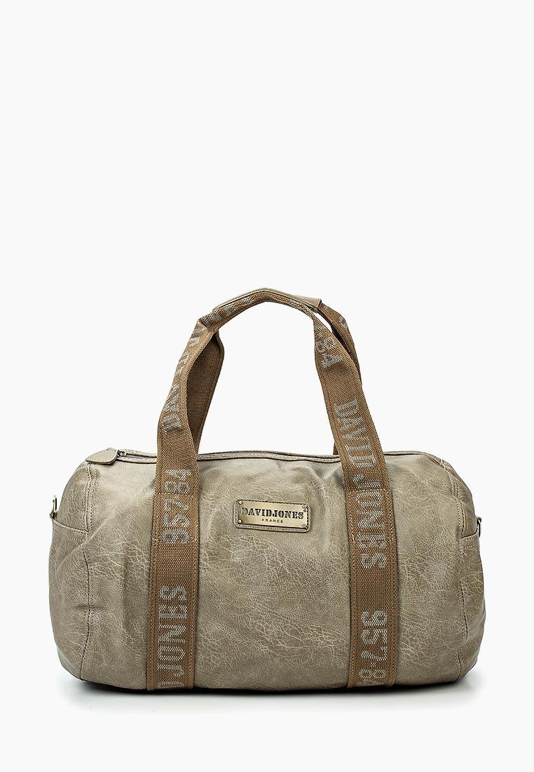 Дорожная сумка David Jones (Дэвид Джонс) СМ0045-12_кофе