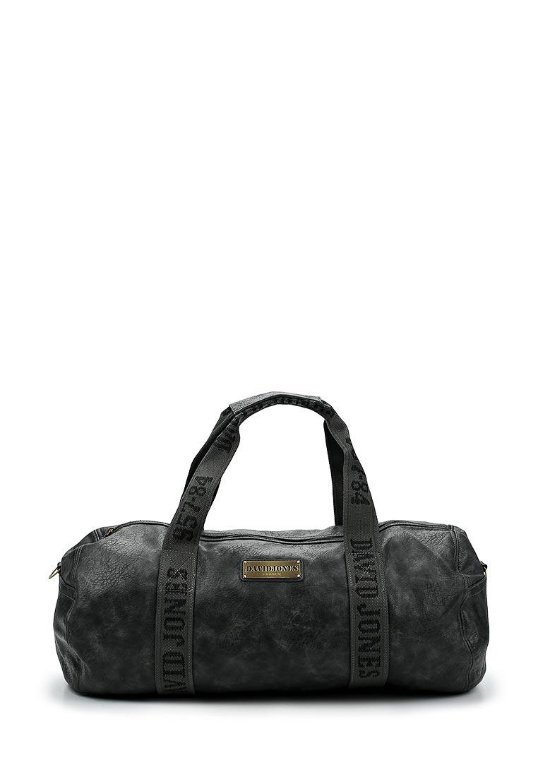 Дорожная сумка David Jones (Дэвид Джонс) СМ0046-12_черный