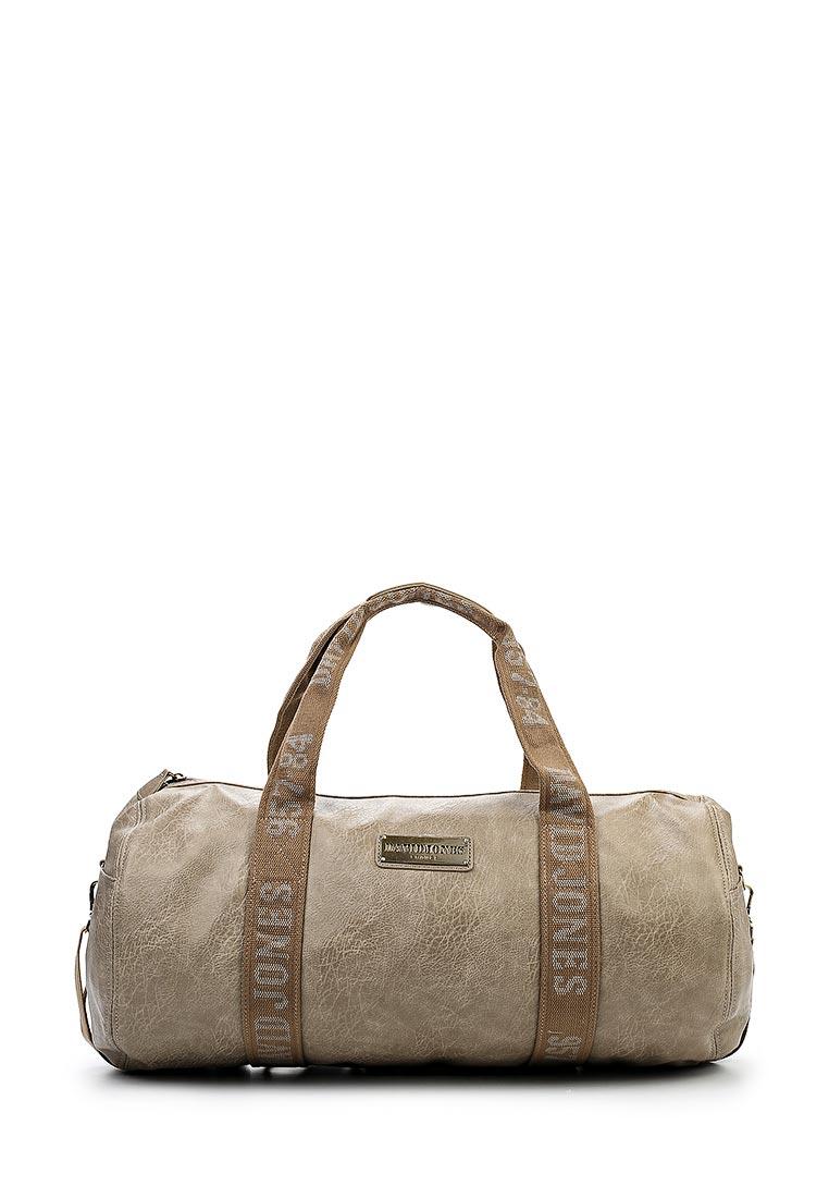 Дорожная сумка David Jones (Дэвид Джонс) СМ0046-12_кофе