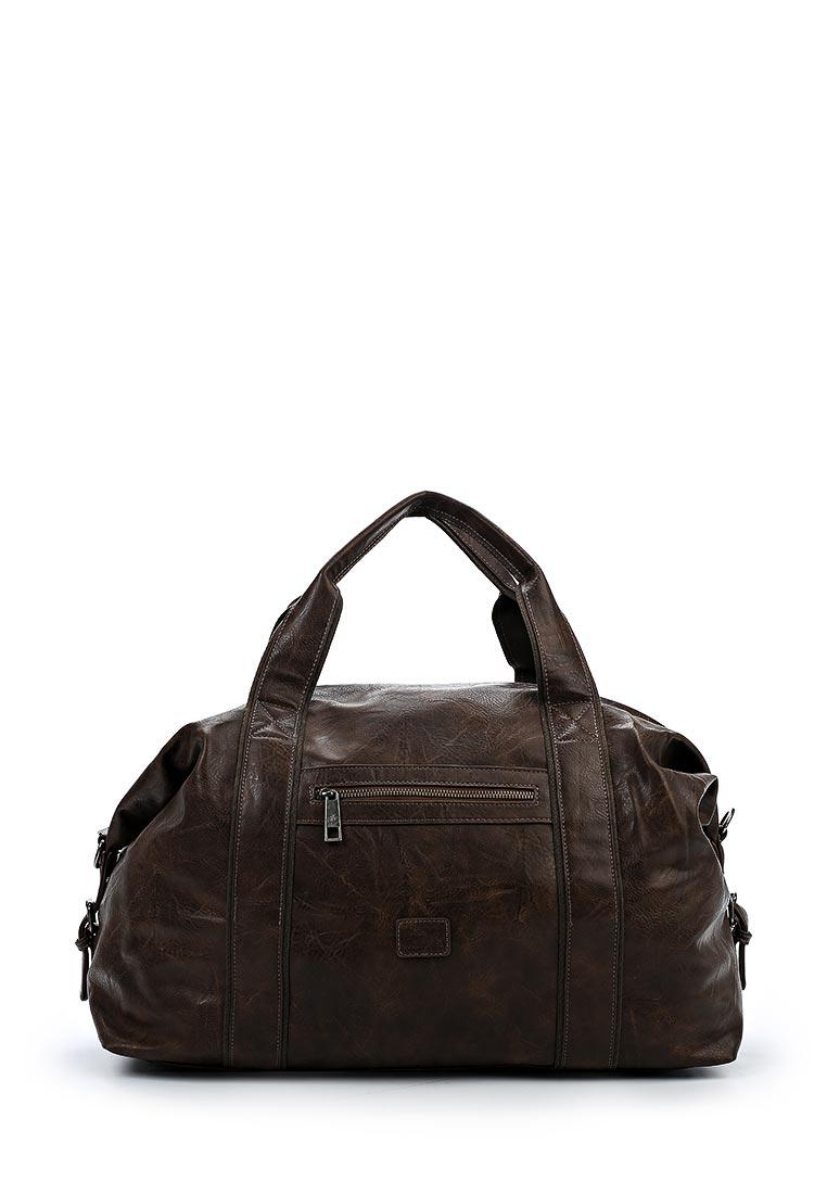 Дорожная сумка David Jones (Дэвид Джонс) СМ3241_коричневый