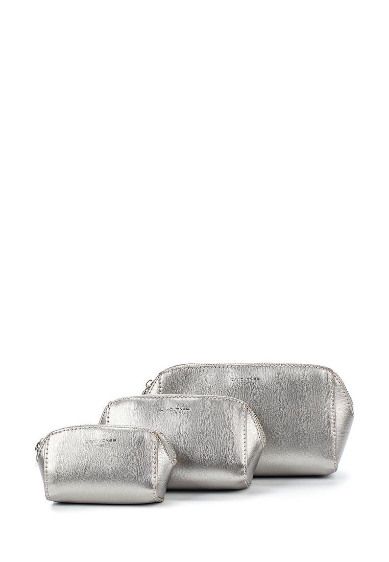 Косметичка David Jones СМ3601_серебро